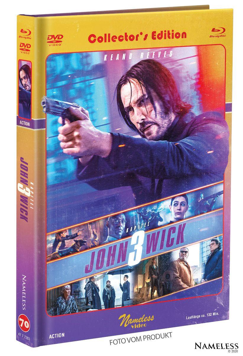 John Wick: Kapitel 3 (Lim. Uncut Mediabook - Cover C) (DVD + BLURAY)