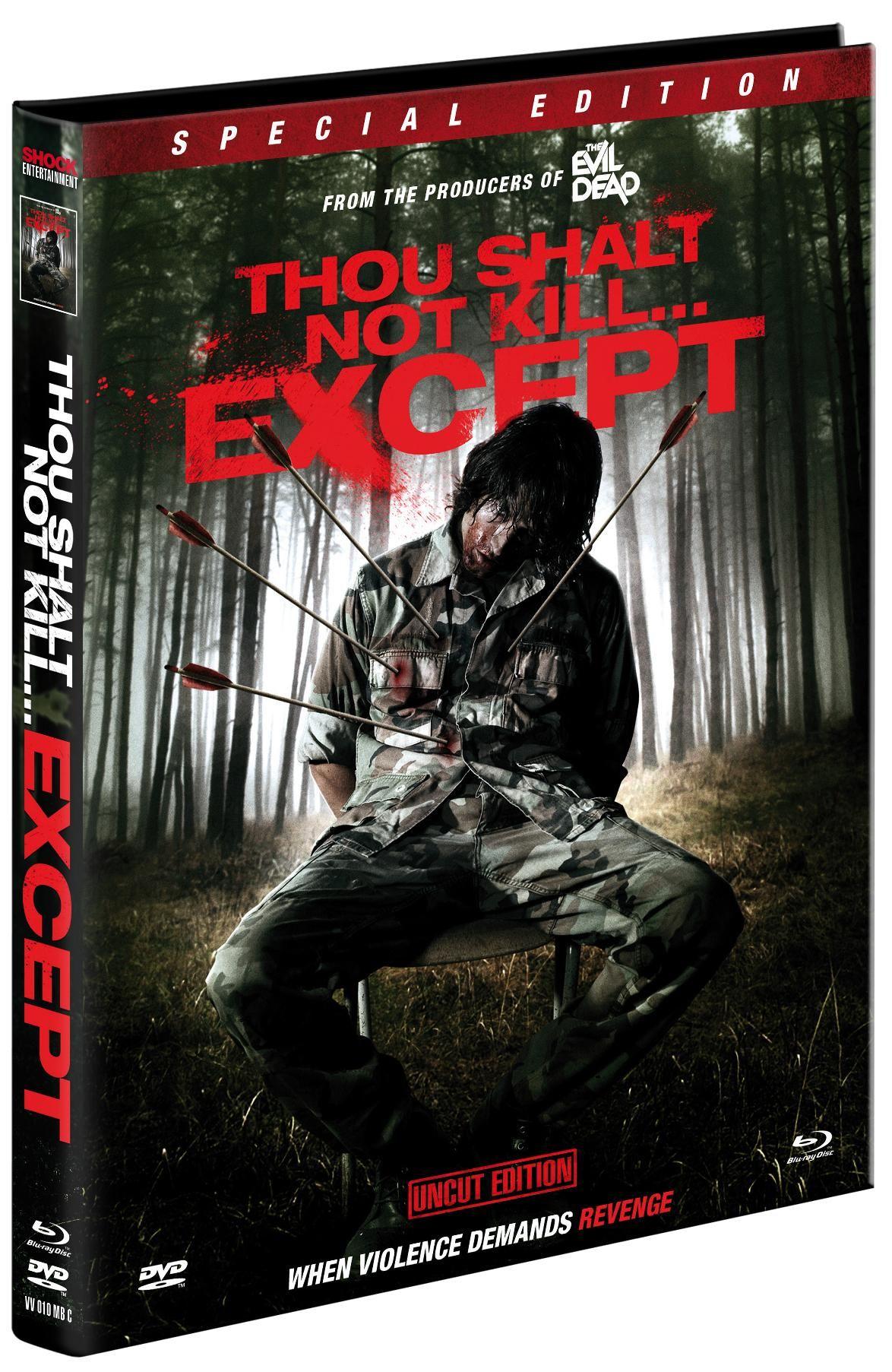 Du sollst nicht töten außer... (Lim. Uncut Mediabook - Cover C) (2 DVD + 1 BLURAY)