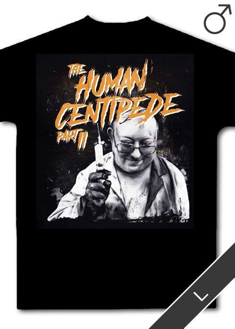 Human Centipede 2, The T-Shirt (schwarz, Größe: L)