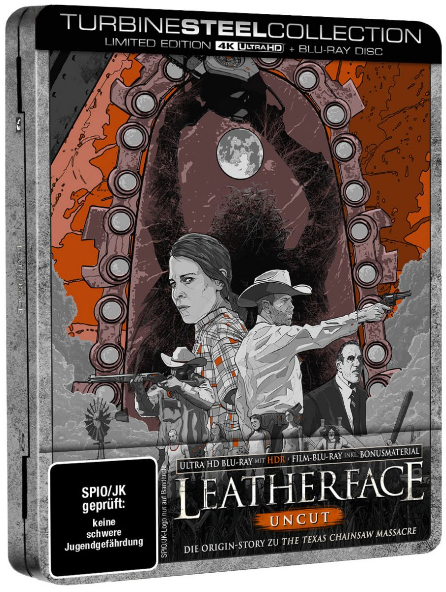 Leatherface (Lim. Uncut FuturePak) (2 Discs) (UHD BLURAY + BLURAY)
