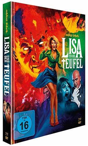 Lisa und der Teufel  (Lim. Uncut Mediabook (2 DVD + BLURAY)