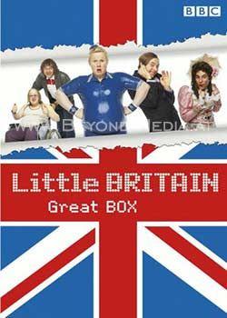 Little Britain - Great Box (Die komplette Serie) (8 Discs)