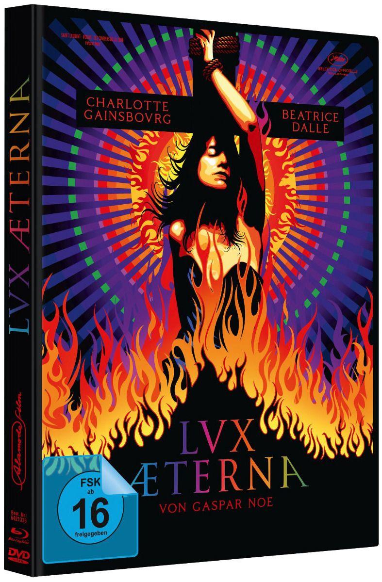 Lux Æterna (Lim. Uncut Mediabook - Cover A) (DVD + BLURAY)