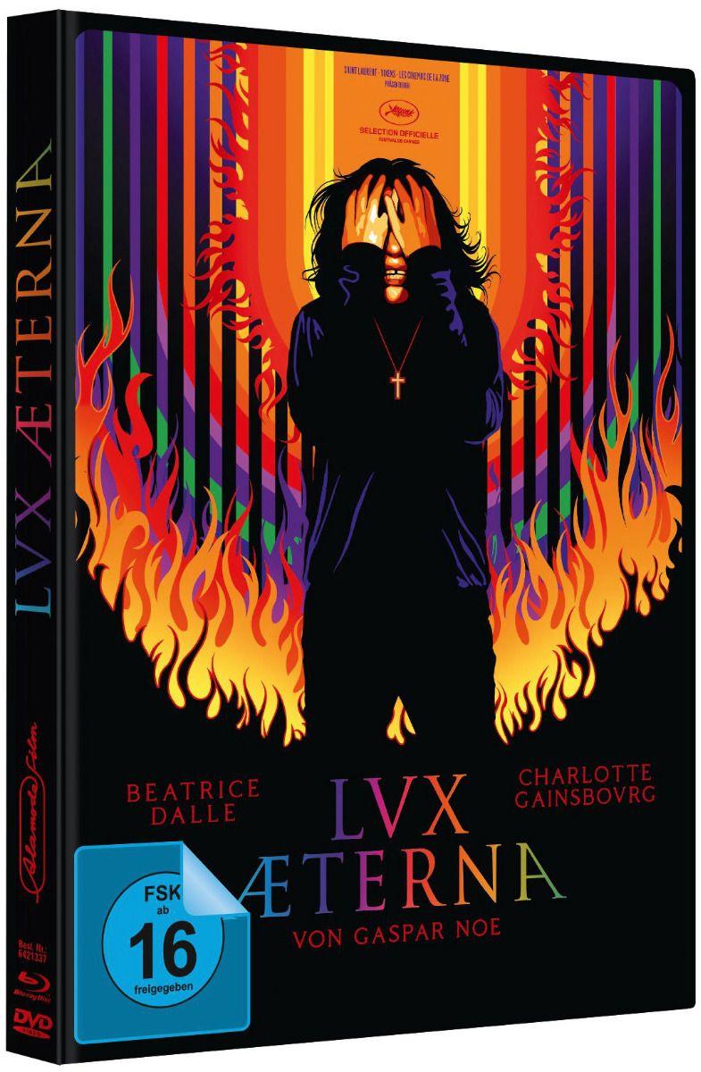Lux Æterna (Lim. Uncut Mediabook - Cover B) (DVD + BLURAY)