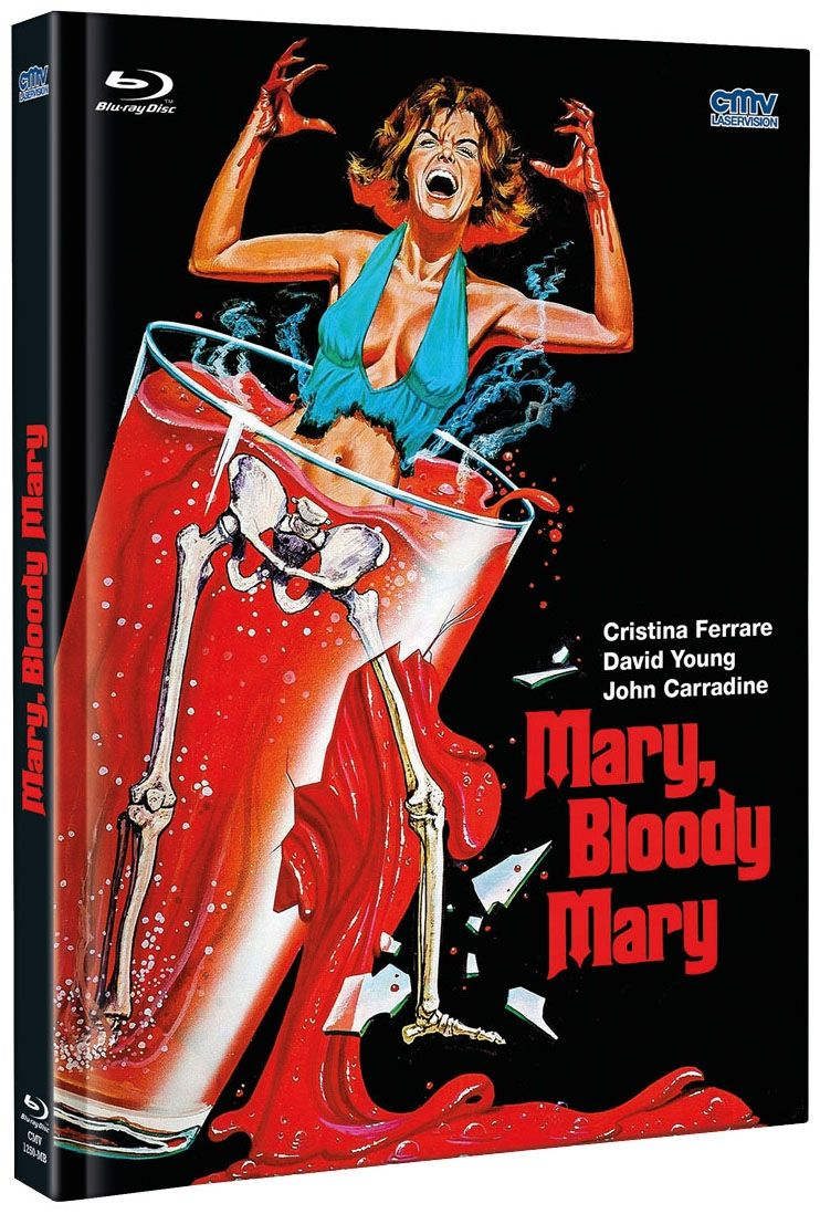Mary, Bloody Mary (Lim. Uncut Mediabook) (DVD + BLURAY)