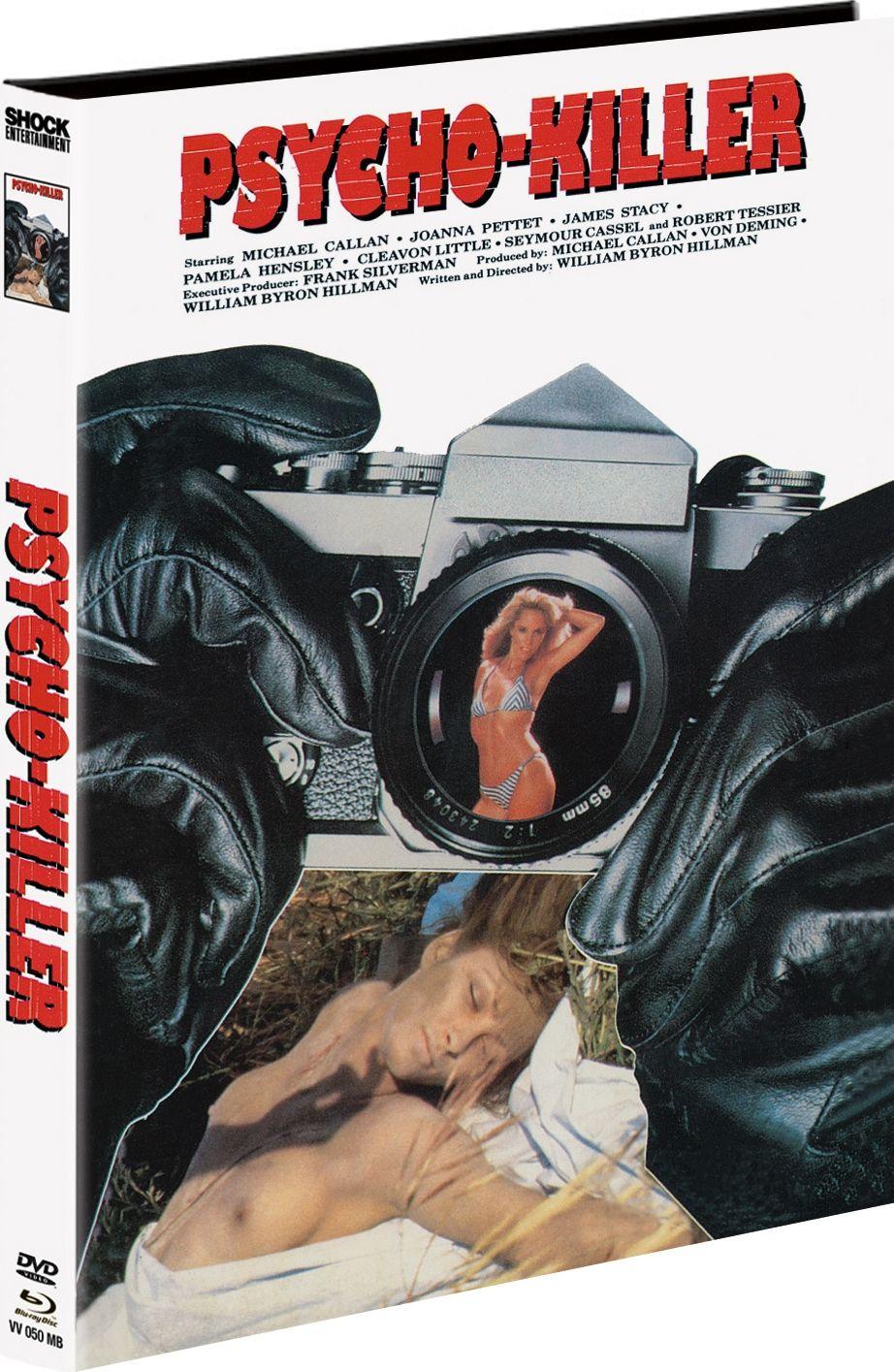 Psycho-Killer (Lim. Uncut Mediabook) (DVD + BLURAY)