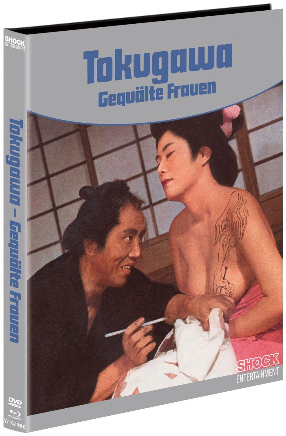 Tokugawa - Gequälte Frauen (Lim. Uncut Mediabook - Cover C) (DVD + BLURAY)