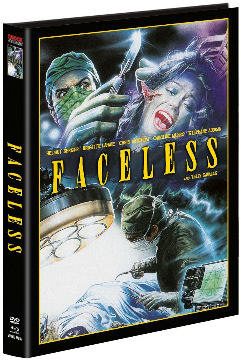Faceless (Lim. Uncut wattiertes Mediabook - Cover A) (DVD + BLURAY)