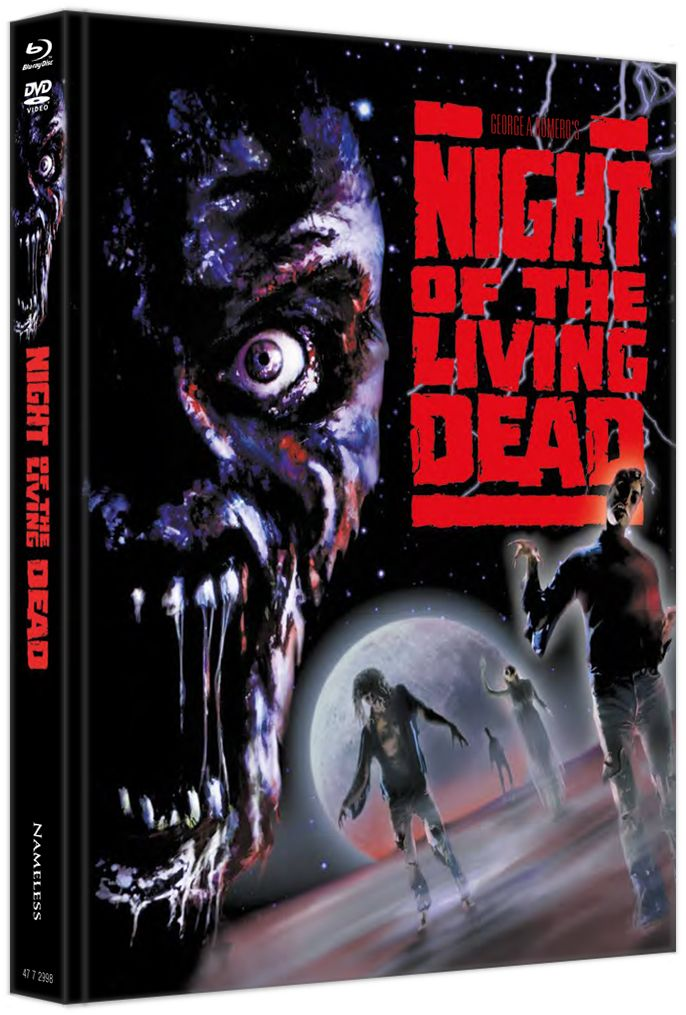 Night of the Living Dead (1990) (Lim. Uncut Mediabook - Cover A) (DVD + BLURAY)