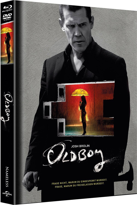 Oldboy (2013) (Lim. Uncut Mediabook - Cover A) (DVD + BLURAY)