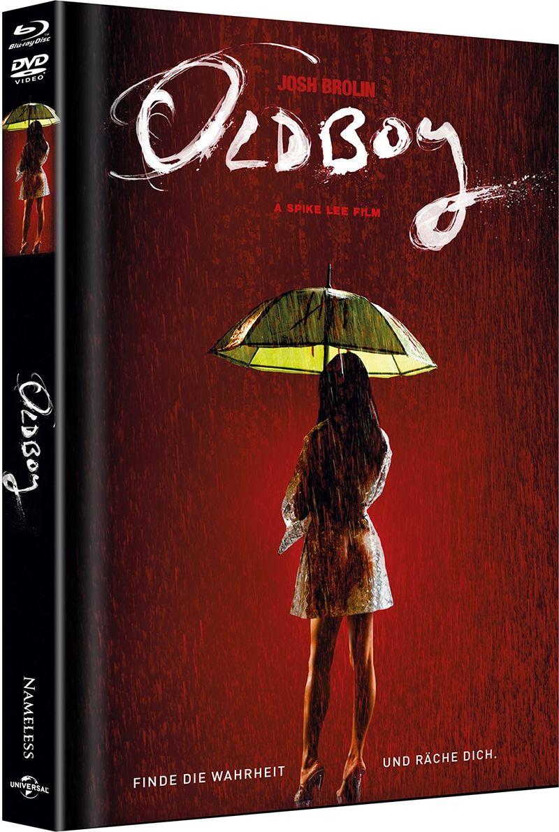 Oldboy (2013) (Lim. Uncut Mediabook - Cover B) (DVD + BLURAY)