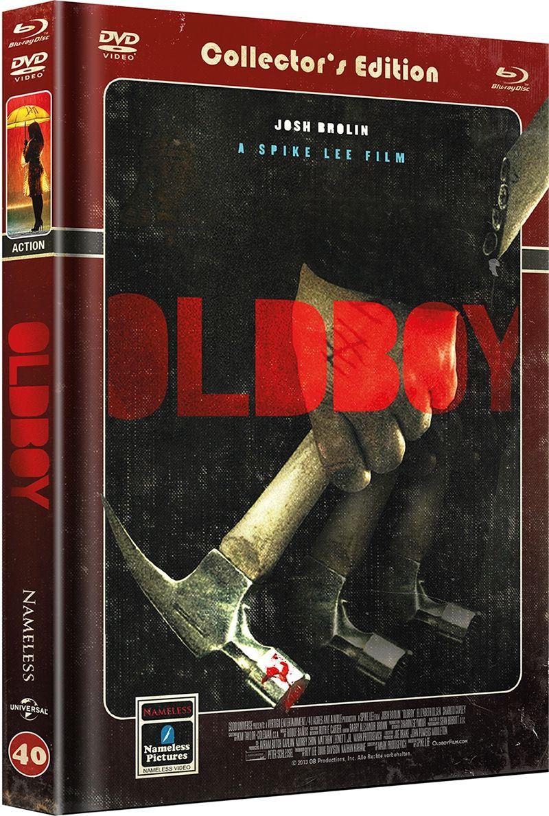 Oldboy (2013) (Lim. Uncut Mediabook - Cover D) (DVD + BLURAY)