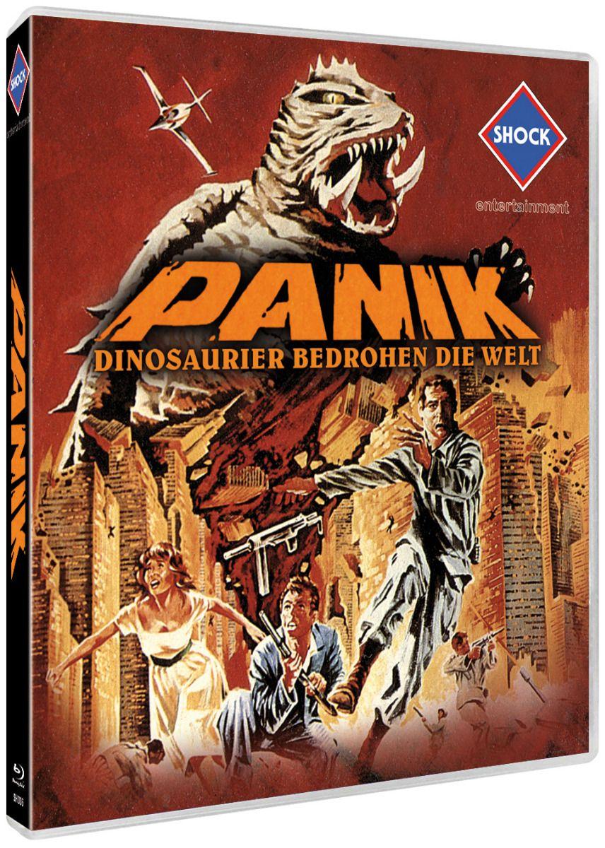 Panik - Dinosaurier bedrohen die Welt (Lim. Edition) (BLURAY)