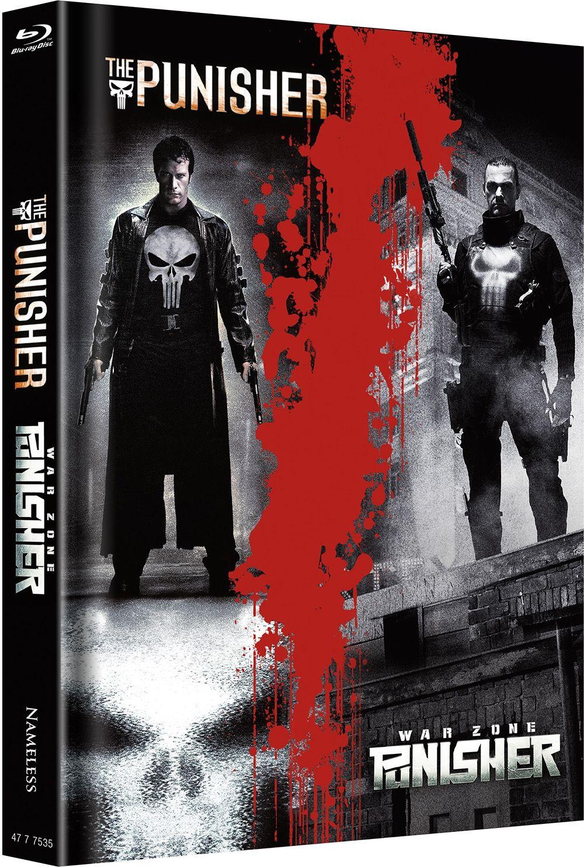 Punisher, The (2004) / Punisher: War Zone (Lim. Uncut Double Feature Mediabook) (2 Discs) (BLURAY)
