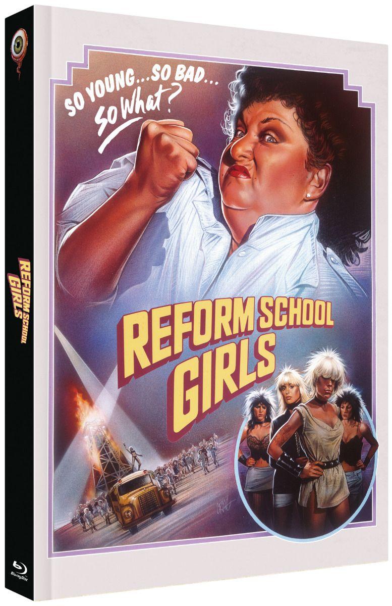 Reform School Girls (Lim. Uncut Mediabook - Cover A) (DVD + BLURAY)