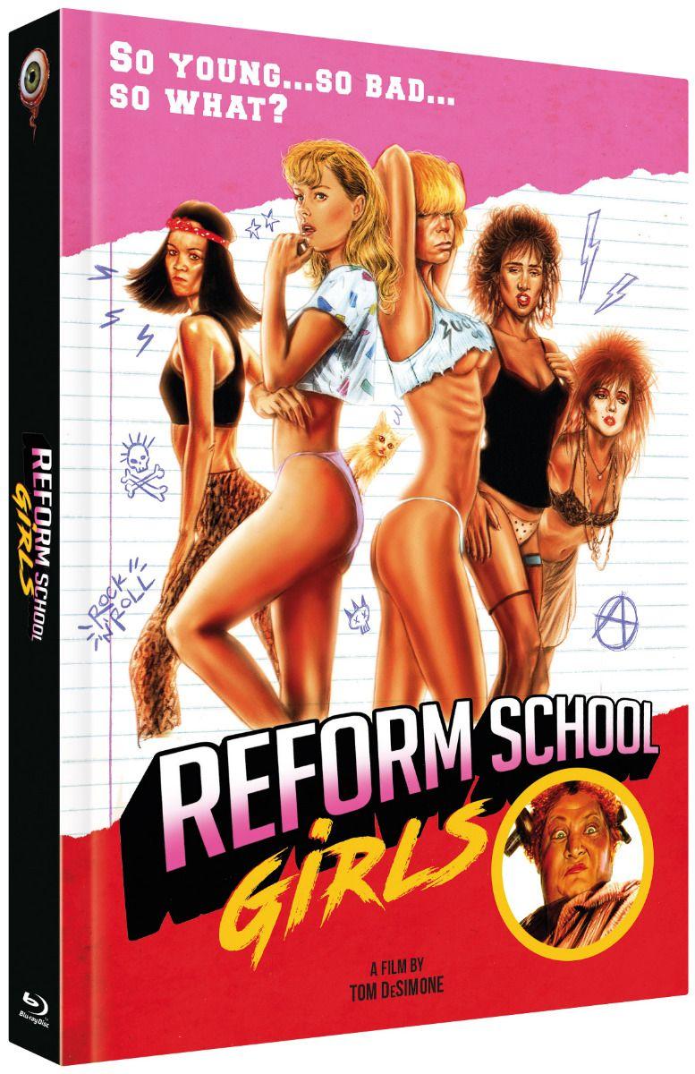 Reform School Girls (Lim. Uncut Mediabook - Cover B) (DVD + BLURAY)