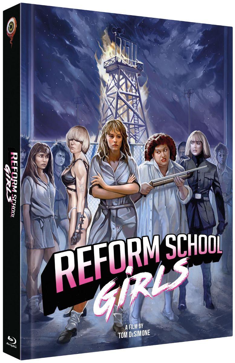 Reform School Girls (Lim. Uncut Mediabook - Cover C) (DVD + BLURAY)