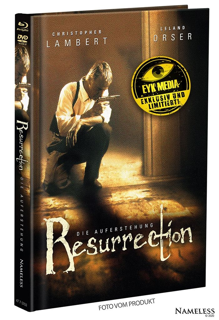 Resurrection - Die Auferstehung (Lim. Uncut Mediabook - Cover B) (DVD + BLURAY)