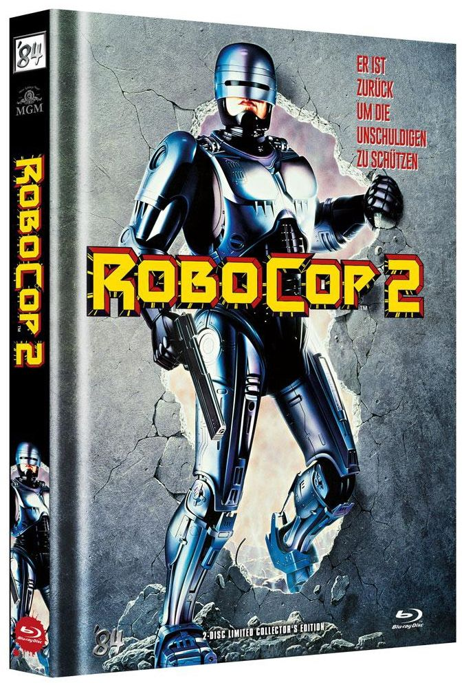 RoboCop 2 (Lim. Uncut Mediabook - Cover A) (DVD + BLURAY)