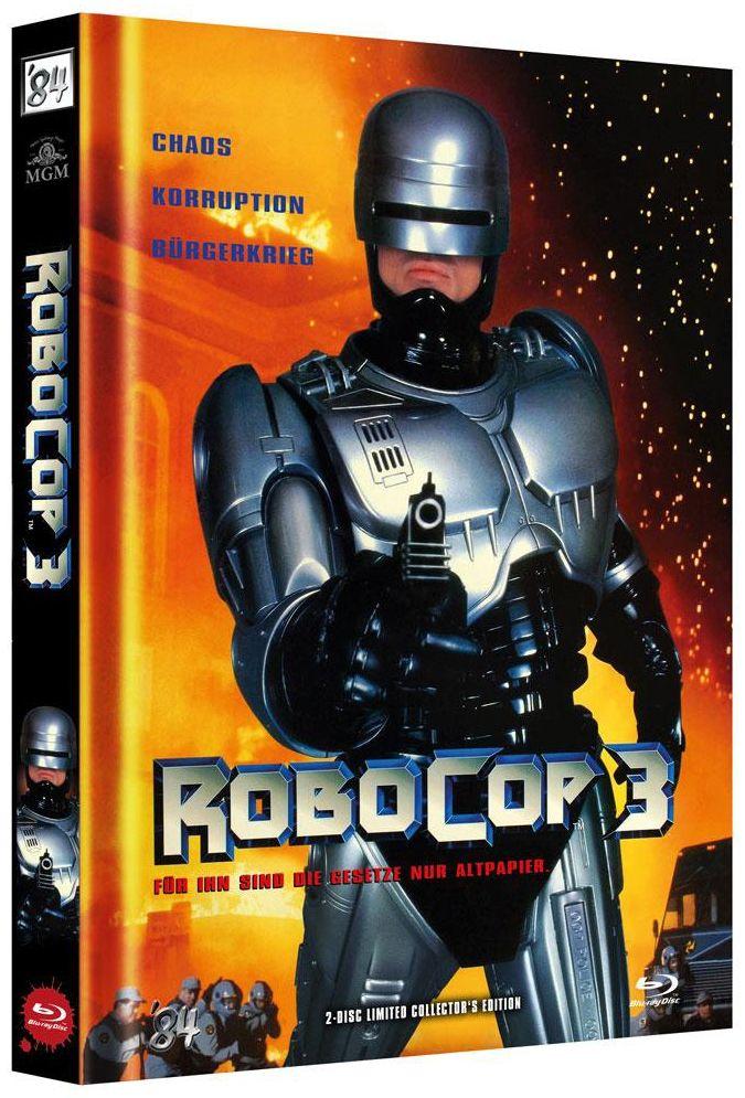 RoboCop 3 (Lim. Uncut Mediabook - Cover A) (DVD + BLURAY)