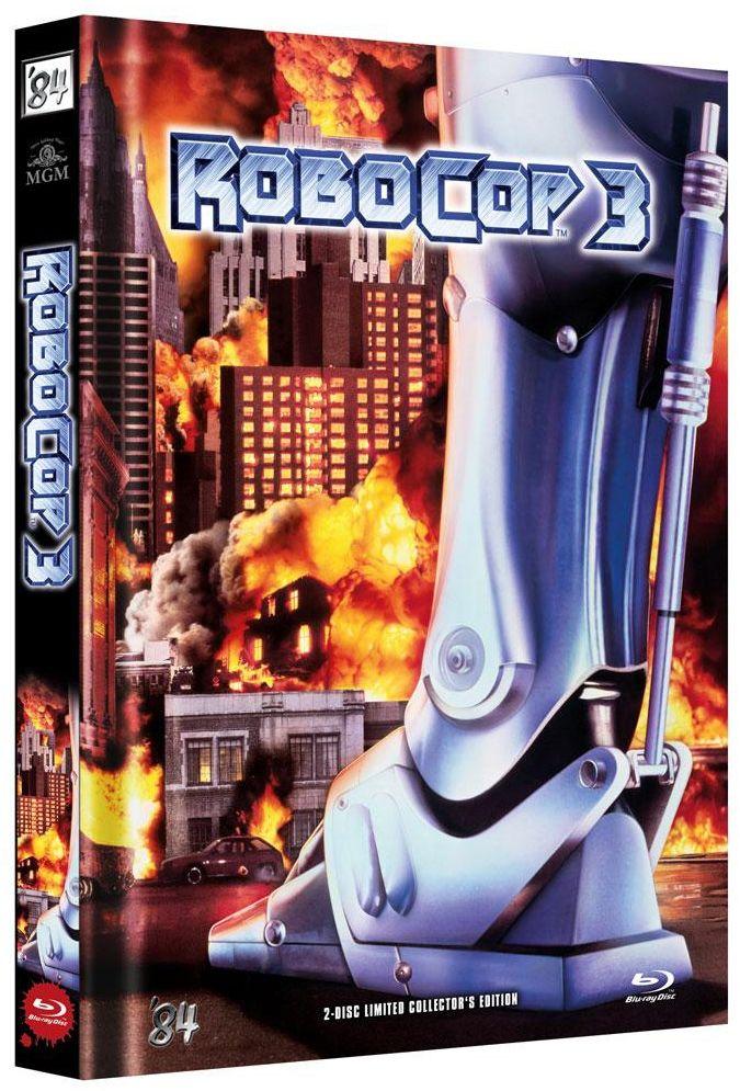 RoboCop 3 (Lim. Uncut Mediabook - Cover B) (DVD + BLURAY)