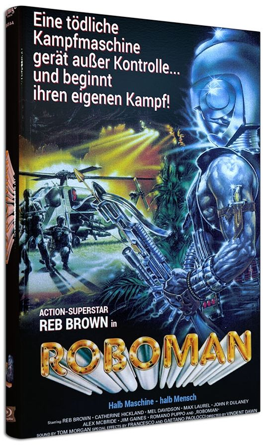 Roboman (Lim. gr. Hartbox - Cover A) (BLURAY)