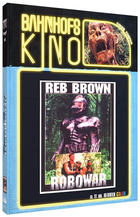 Roboman (Lim. Uncut Mediabook - Cover B) (DVD + BLURAY)