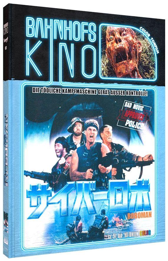Roboman (Lim. Uncut Mediabook - Cover C) (DVD + BLURAY)