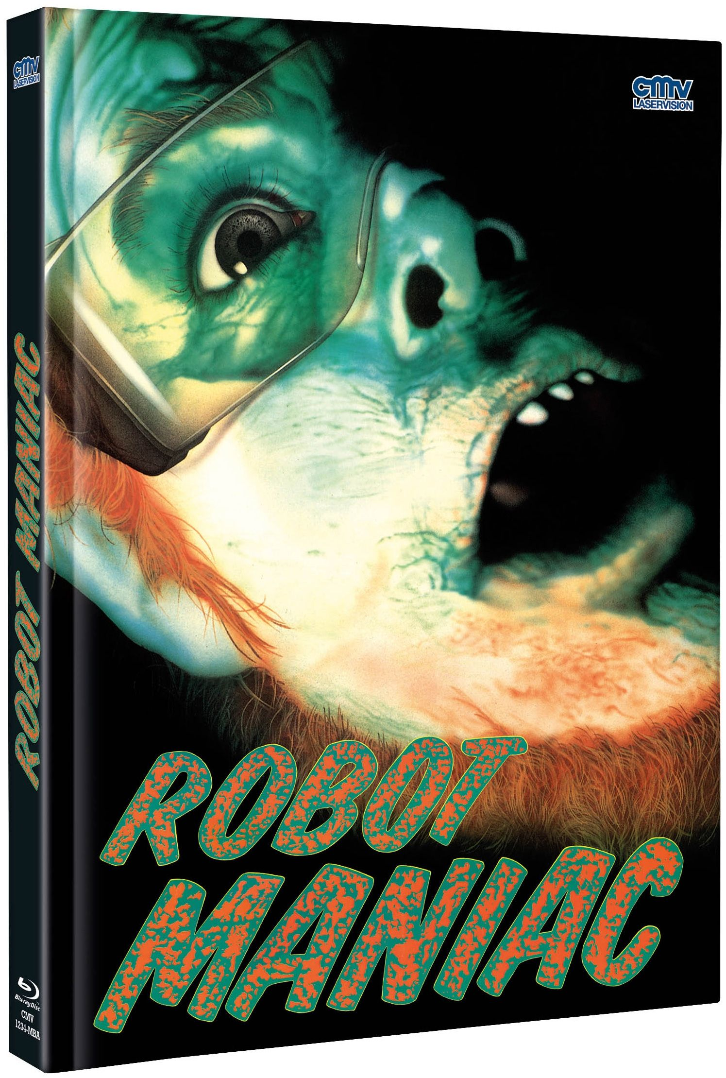 Robot Maniac (Lim. Uncut Mediabook - Cover A) (DVD + BLURAY)