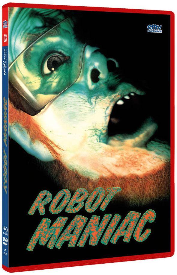 Robot Maniac (The NEW! Trash Collection) (DVD + BLURAY)
