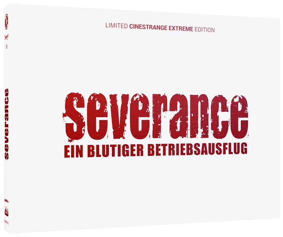 Severance - Ein blutiger Betriebsauflug (Lim. Uncut wattiertes Quer-Mediabook - Cover Q) (DVD + BLURAY)