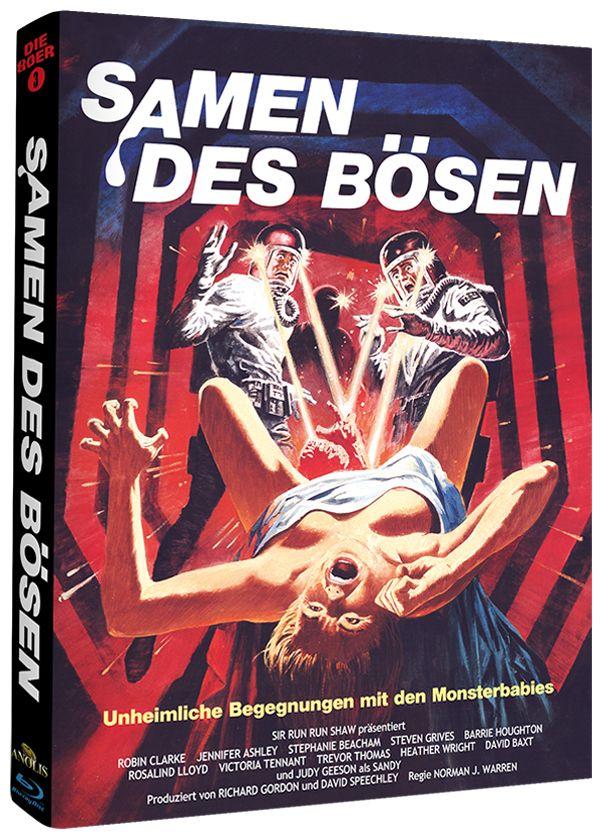 Samen des Bösen (Lim. Uncut Mediabook - Cover A) (BLURAY)