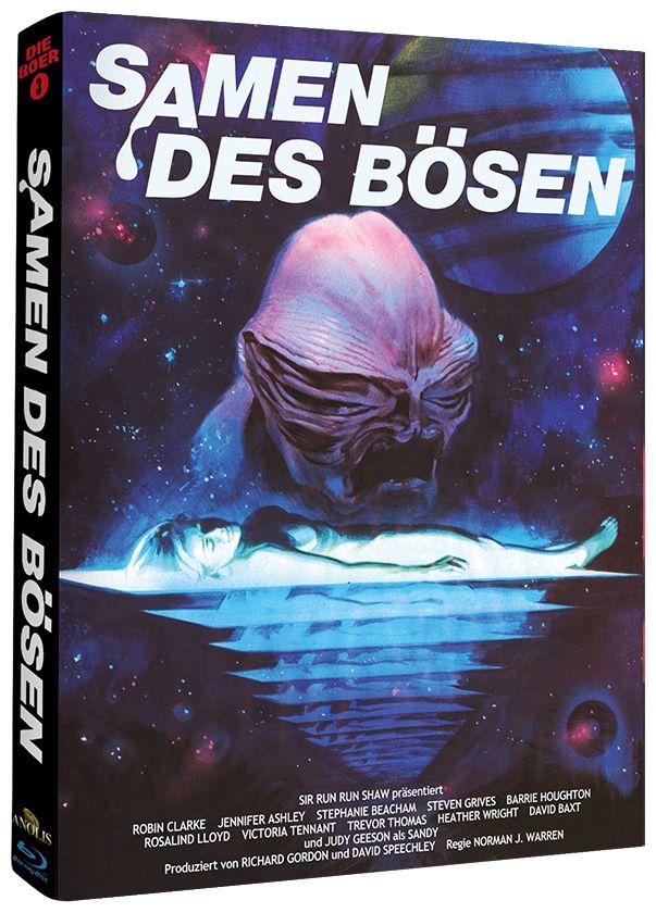 Samen des Bösen (Lim. Uncut Mediabook - Cover B) (BLURAY)