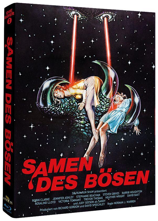 Samen des Bösen (Lim. Uncut Mediabook - Cover C) (BLURAY)