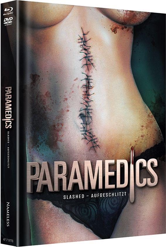 Paramedics (Lim. Uncut Mediabook - Cover B) (DVD + BLURAY)