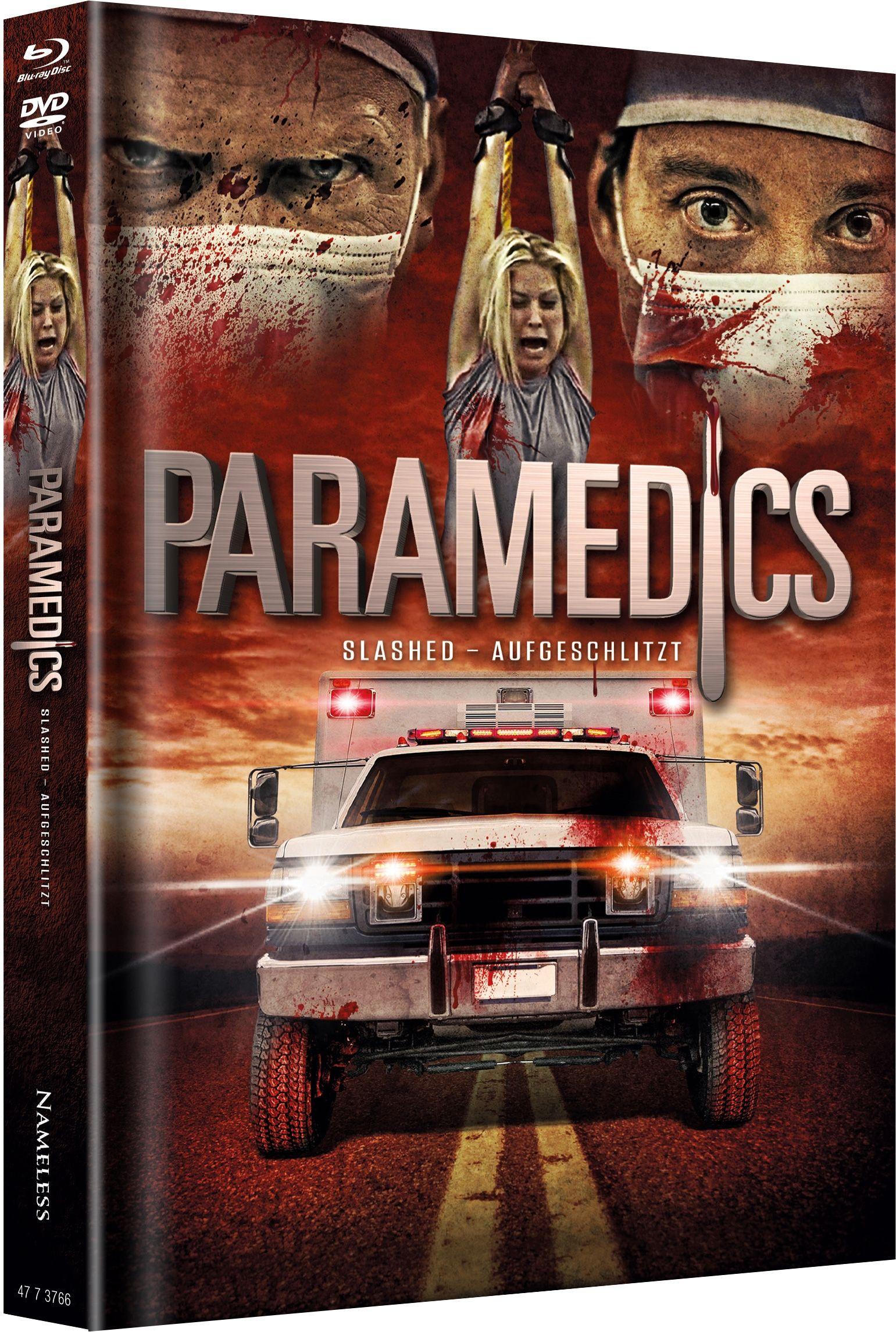 Paramedics (Lim. Uncut Mediabook - Cover A) (DVD + BLURAY)