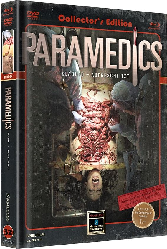 Paramedics (Lim. Uncut Mediabook - Cover C) (DVD + BLURAY)
