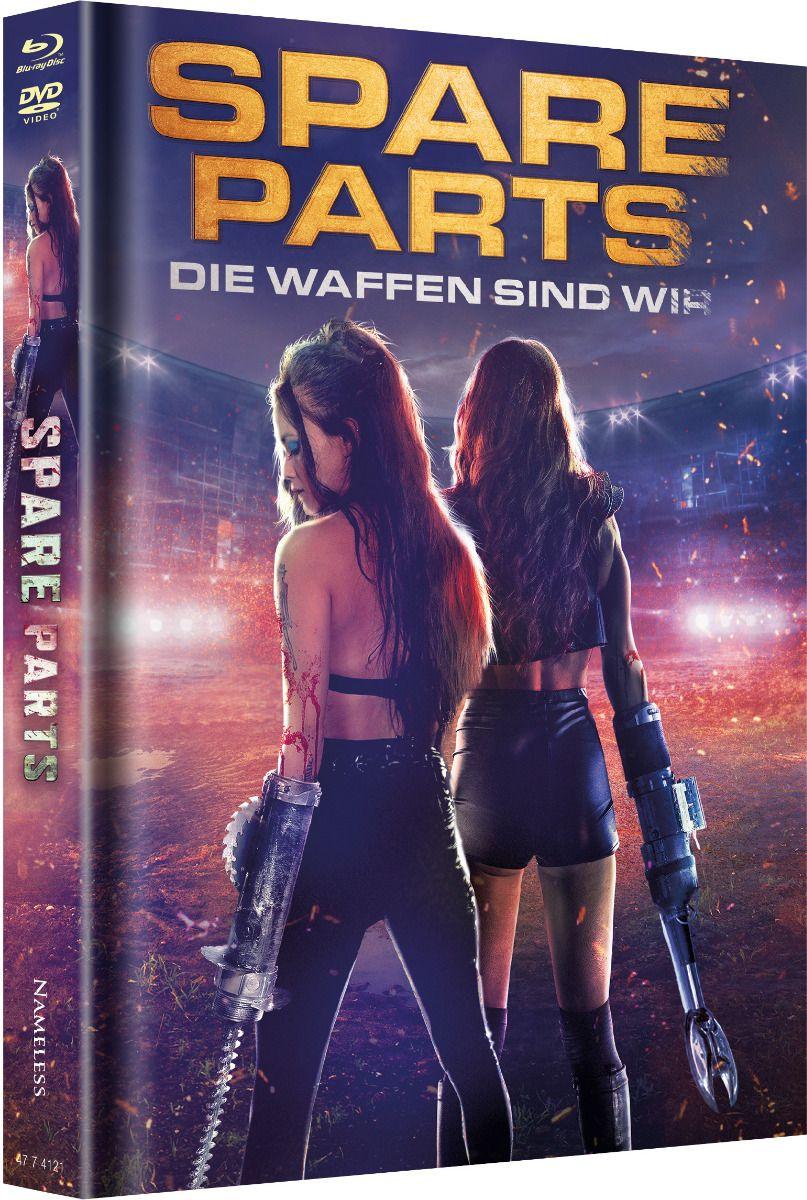 Spare Parts - Die Waffen sind wir (Lim. Uncut Mediabook - Cover B) (DVD + BLURAY)