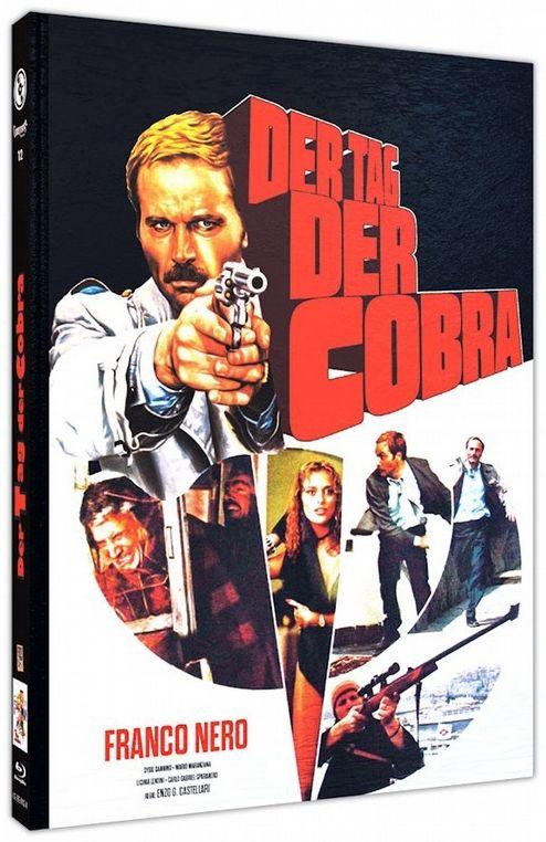 Tag der Cobra, Der (Lim. Uncut Mediabook - Cover A) (BLURAY)