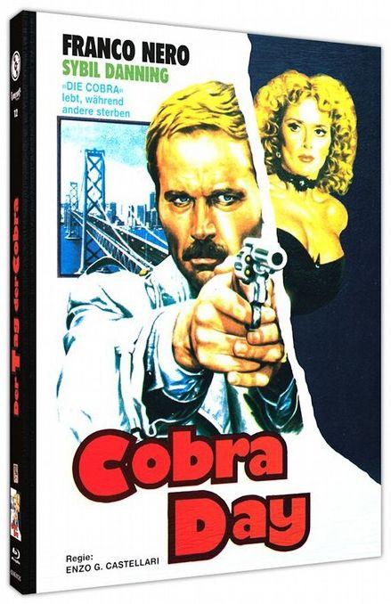 Tag der Cobra, Der (Lim. Uncut Mediabook - Cover C) (BLURAY)