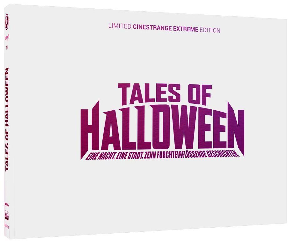 Tales of Halloween (Lim. Uncut wattiertes Quer-Mediabook - Cover Q) (DVD + BLURAY)