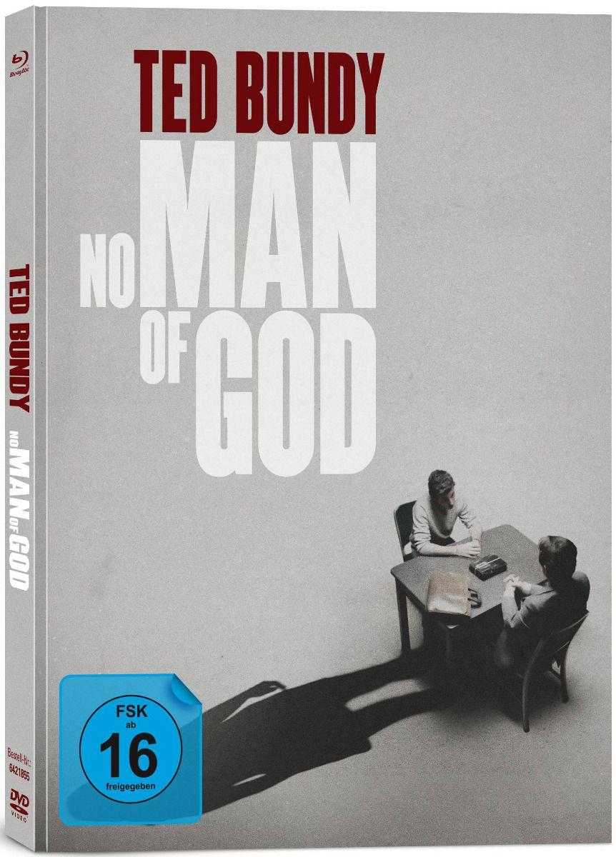 Ted Bundy - No Man of God (Lim. Uncut Mediabook) (DVD + BLURAY)