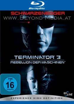 Terminator 3 - Rebellion der Maschinen (BLURAY)