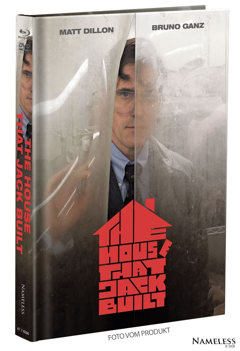 House That Jack Built, The (Lim. Uncut Mediabook - Cover A) (DVD + BLURAY)