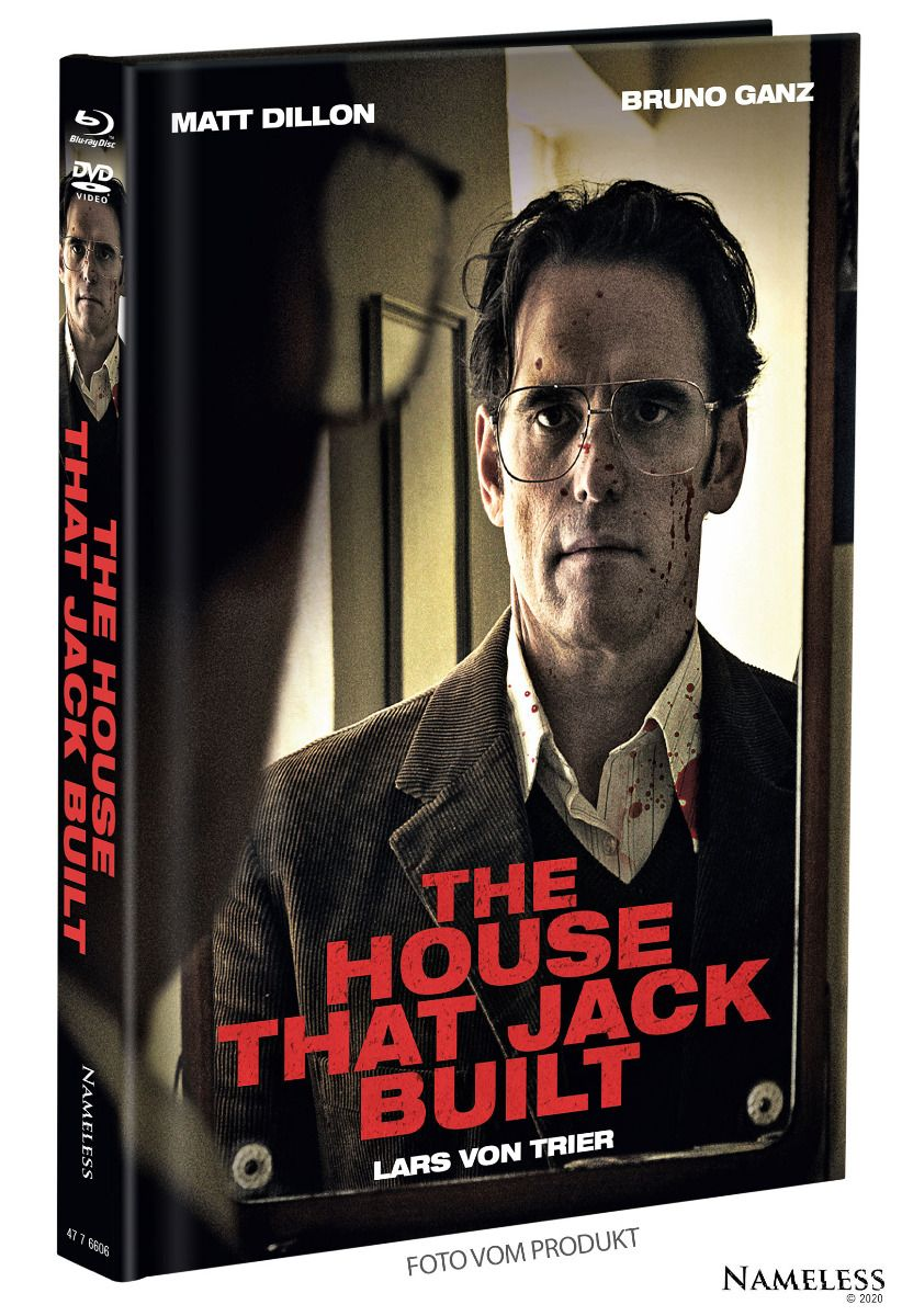 House That Jack Built, The (Lim. Uncut Mediabook - Cover B) (DVD + BLURAY)