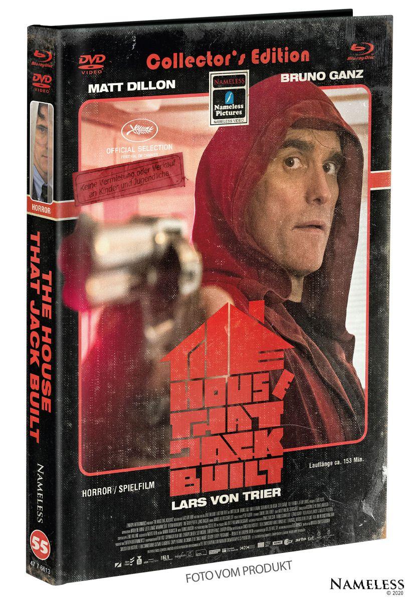 House That Jack Built, The (Lim. Uncut Mediabook - Cover C) (DVD + BLURAY)