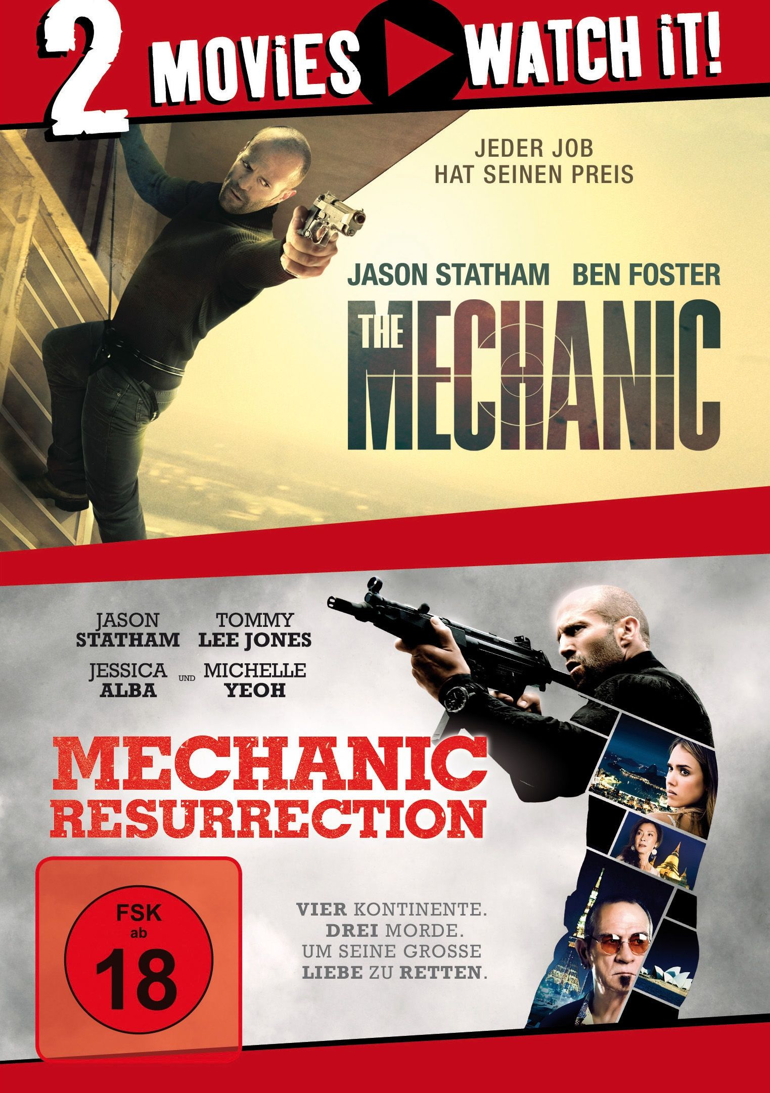 Mechanic, The / Mechanic: Resurrection (Double Feature) (2 Discs)