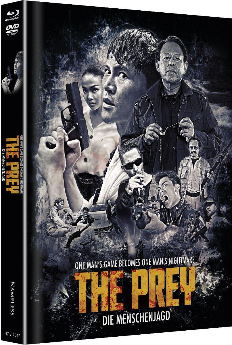 Prey, The - Die Menschenjagd (Lim. Uncut Mediabook - Cover B) (DVD + BLURAY)