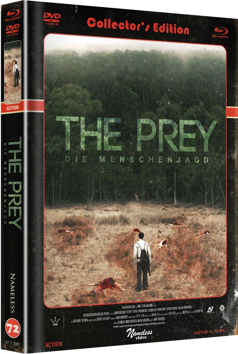 Prey, The - Die Menschenjagd (Lim. Uncut Mediabook - Cover C) (DVD + BLURAY)