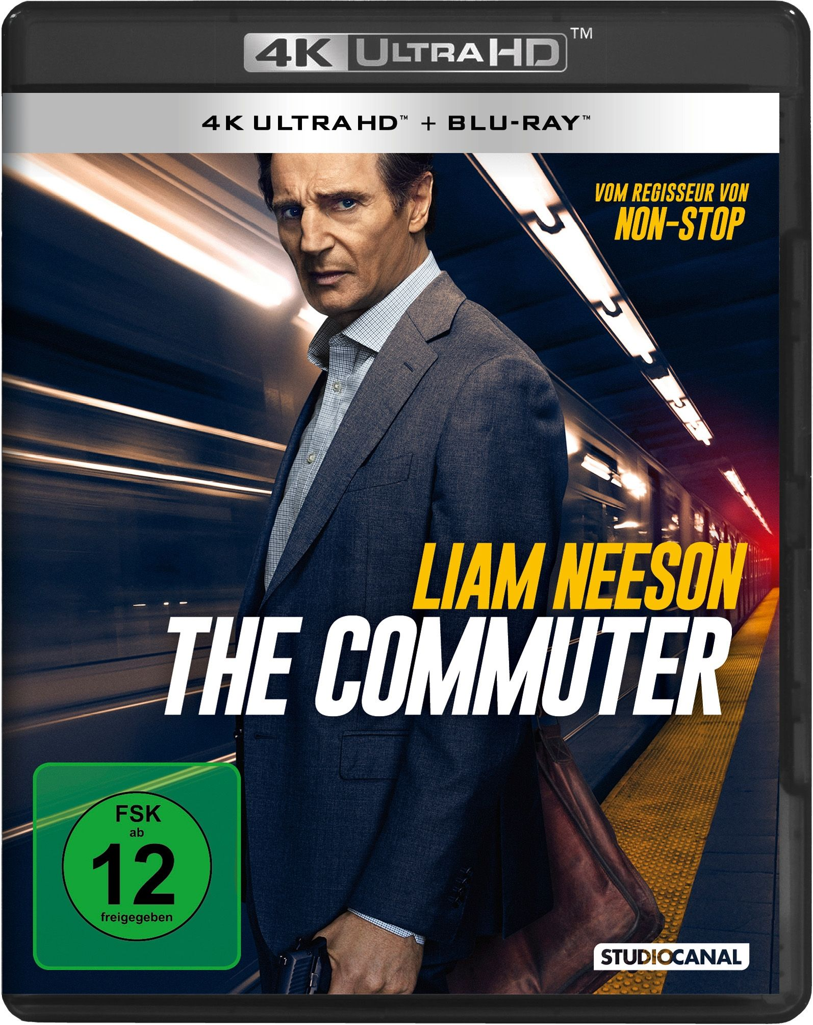 Commuter, The (2 Discs) (UHD BLURAY + BLURAY)